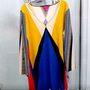 Sunny Leigh Colorful dress perfect for all event